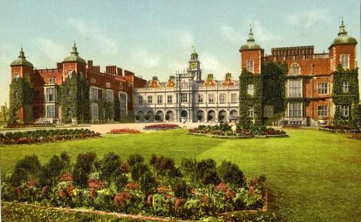 Hatfield House Postcard
