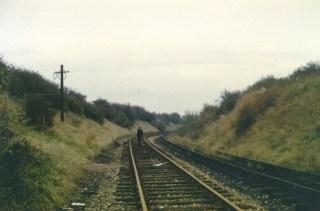 Hatfield Main Line from Branch 1966