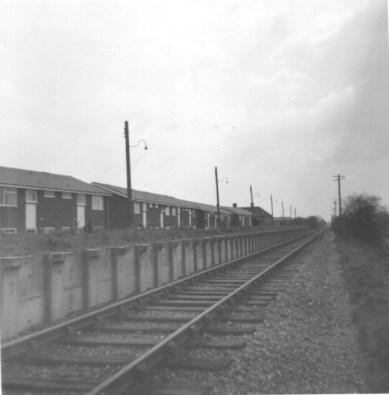 Lemsford Rd Halt towards St A 1968