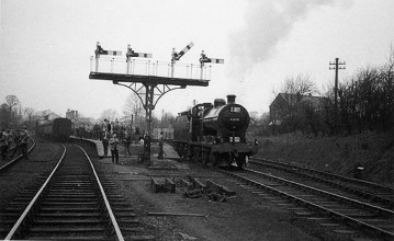 London Railtour March 1961 2 Abbey Stn No 44575