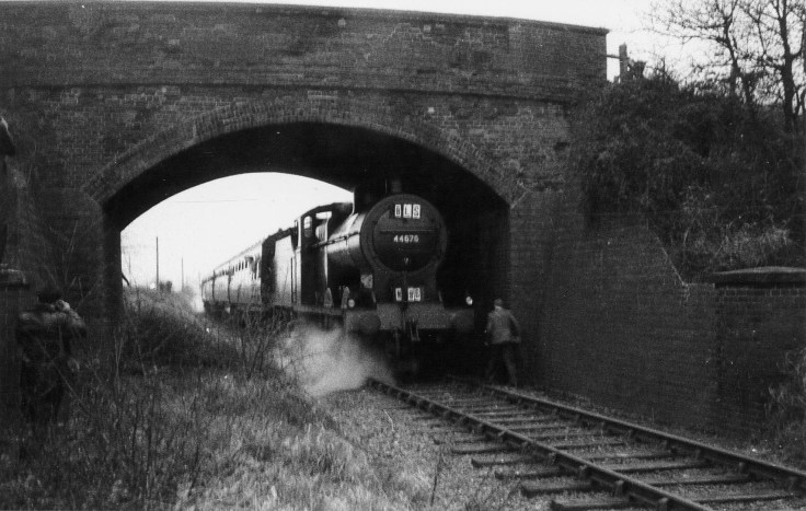 London Railtour March 1961 5 No 44575 at Smallford