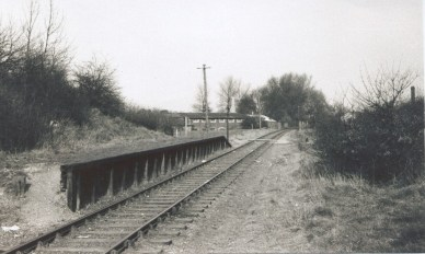 Sanders Halt 2 1961 looking East