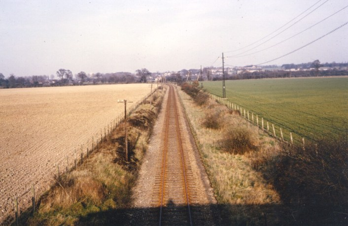 Smallford -1 looking East from road bridge 1967