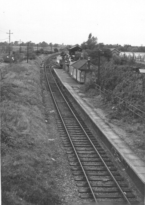 Smallford - 12 Looking West from Bridge Oct 1967