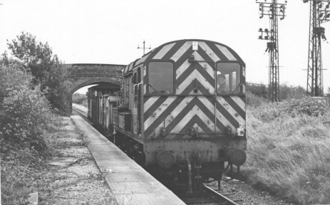 Smallford - 15 Empty coal train for Hatfield Oct 1967