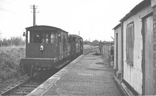 Smallford - 16 Empty coal train for Hatfield Oct 1967