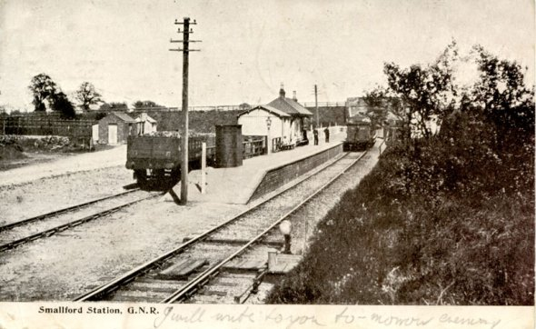 Smallford Station GNR - Showing Sidings