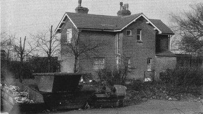 Smallford-Station-Mster's-House-from-the-goods-yard-1983-Hatfield-&-St-Albans-Branch-of-GNR