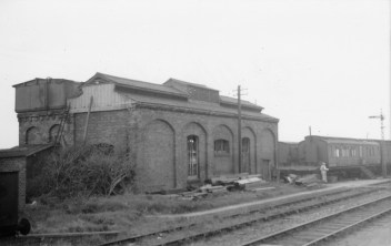 St Albans London Rd 19 Loco Shed 1958 ©