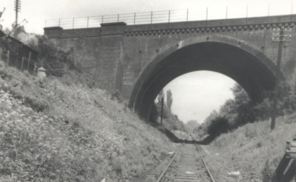 St Albans mainline bridge 1962