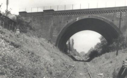 St Albans mainline bridge 1962