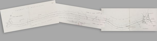 Hatfield & St.Albans Railway - Plans & Sections 1862 (Stitched)