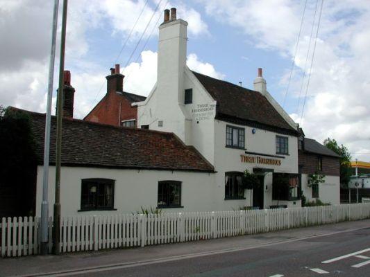 The Three Horseshoe pub