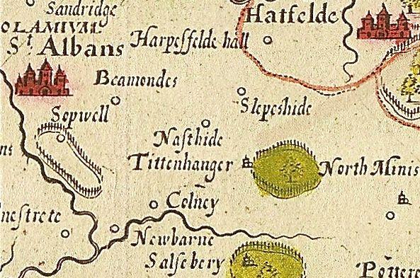 William Kip map 1834