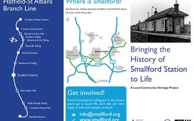 Bringing the History of Smallford Station to Life Leaflet