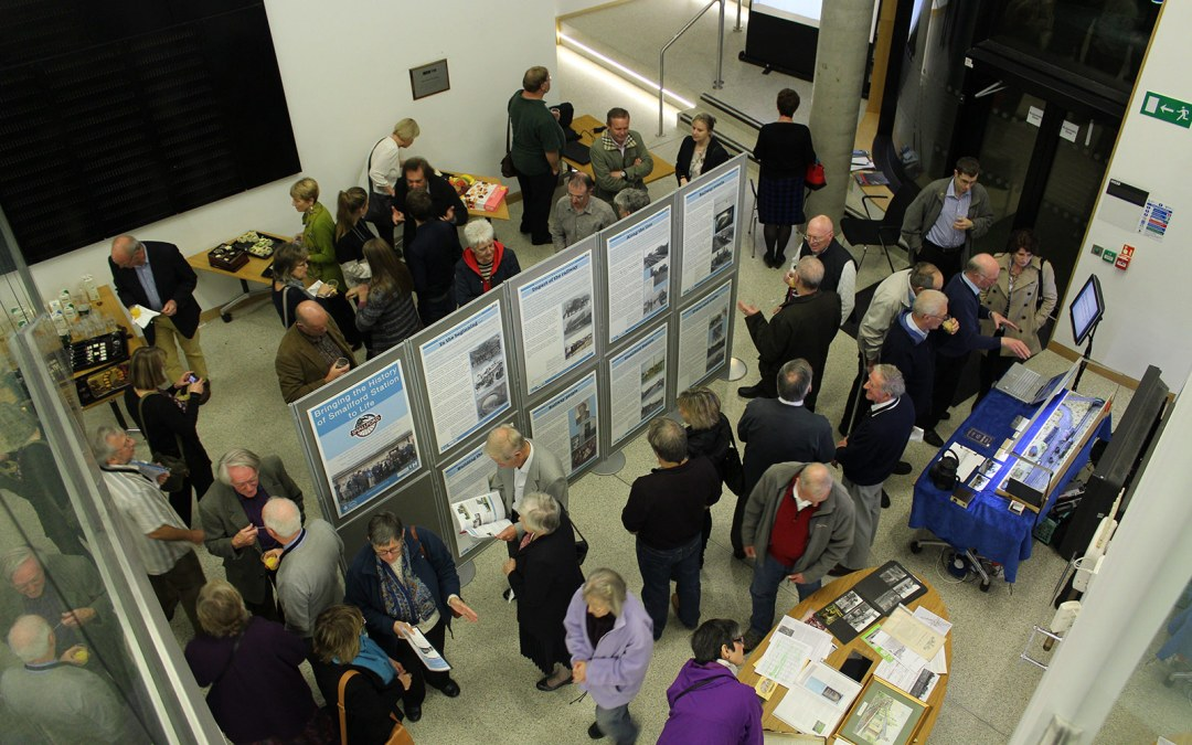 Bringing the History of Smallford Station to Life Project Exhibition Photo Gallery