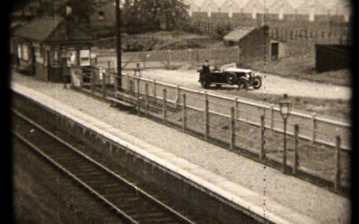 "Smallford Station in ""Monty's Misfortune"" Film 1933"
