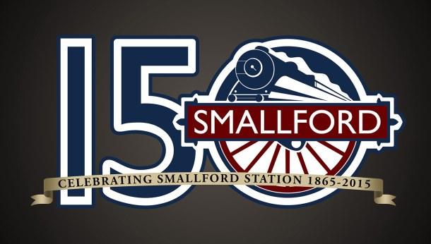Smallford Railway Logo Celebrating 150 Years