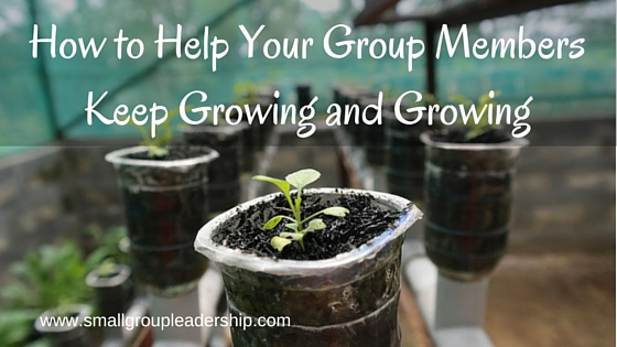 How to Help Your Group Members Keep Growing and Growing