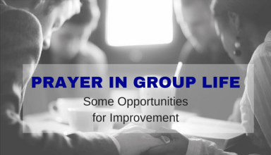 Prayer in Group Life