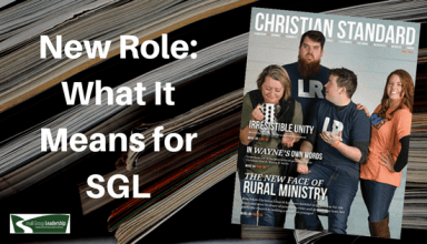 New Role as Christian Standard Editor: What It Means to Small Group Leadership