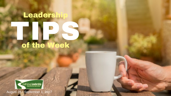 Leadership TIPS of the Week