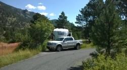 Aspenglen Campground SIte #43