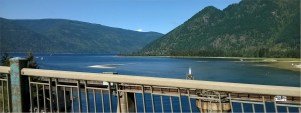Shuswap Lake from Sicamous