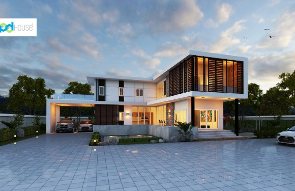 Cool House Plans 316 Square Meters 4 Bedrooms