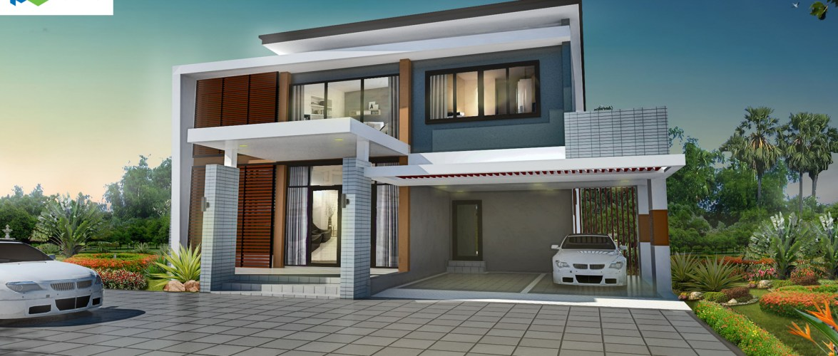 Modern House Design 18×24 with 3 Bedrooms