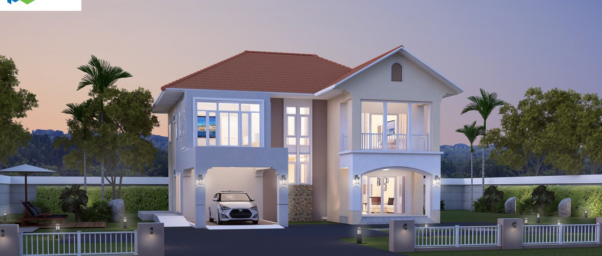 Modern House Plans 17×20 with 3 Bedrooms