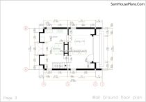 03 wall ground Floor Plan House design Idea 6x8.5 PDF Full Plans