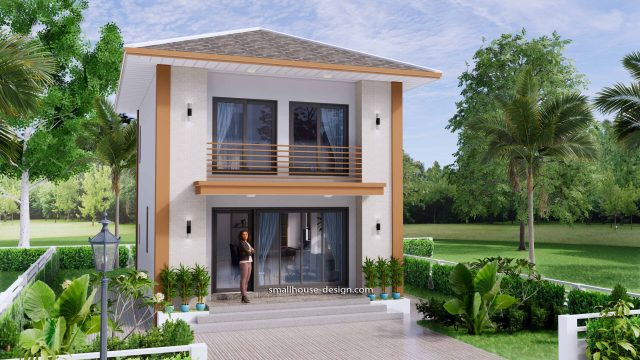 Small House Design 6x7.5 Meter 45 sqm 1