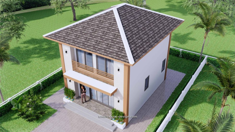 Small House Design 6x7.5 Meter 45 sqm 5