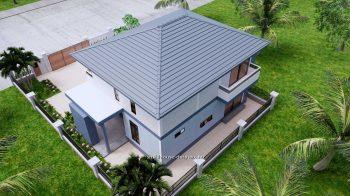 Small House Plan 11.8x7.5 meters 3 Beds 39x25 Feet Full PDF Plan 8