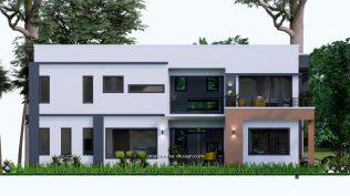 Small House Plan 11x15 M 36x49 Feet 5 Beds Full Plan Left