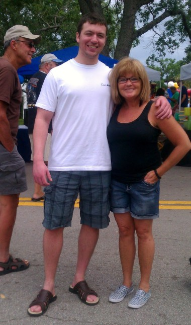 w/ Jack at the Hibiscus Festival 2012
