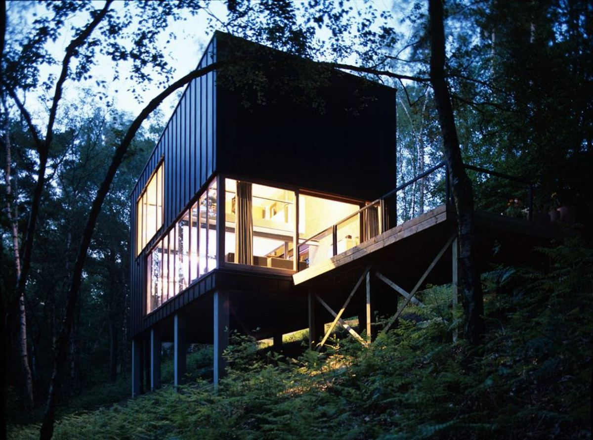Small Modern Houses in the Woods