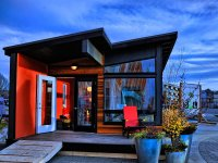 Gallery: Studio37, a modern prefab cottage   Small Modern ...