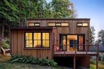 Small Modern Cabin House Plan