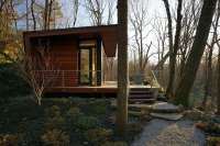 Gallery: A modern studio retreat in the woods | workshop ...