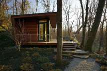 Modern Tiny House Cabin Woods