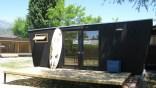 Refugio, a tiny prefab dwelling with a 226 sq ft studio floor plan. | www.facebook.com/SmallHouseBliss