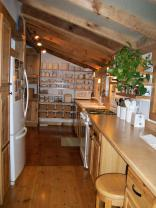 This small Tennessee cabin was renovated into a family's full-time home. It has one bedroom and a loft in 635 sq ft. | www.facebook.com/SmallHouseBliss