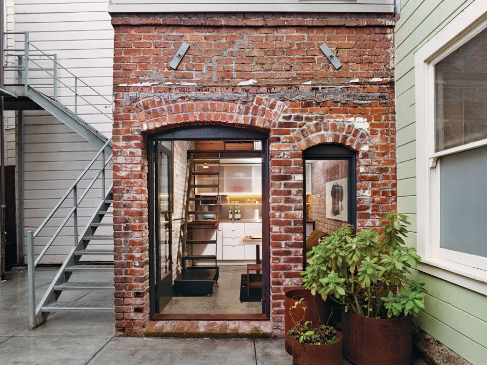 The Brick House Guest Suite Azevedo Design Small House