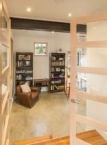 The Butcherknife Residence, an artist's modern energy-efficient home with 2 bedrooms + art studio in 1200 sqft. | www.facebook.com/SmallHouseBliss