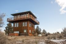 Fire Lookout Tower House
