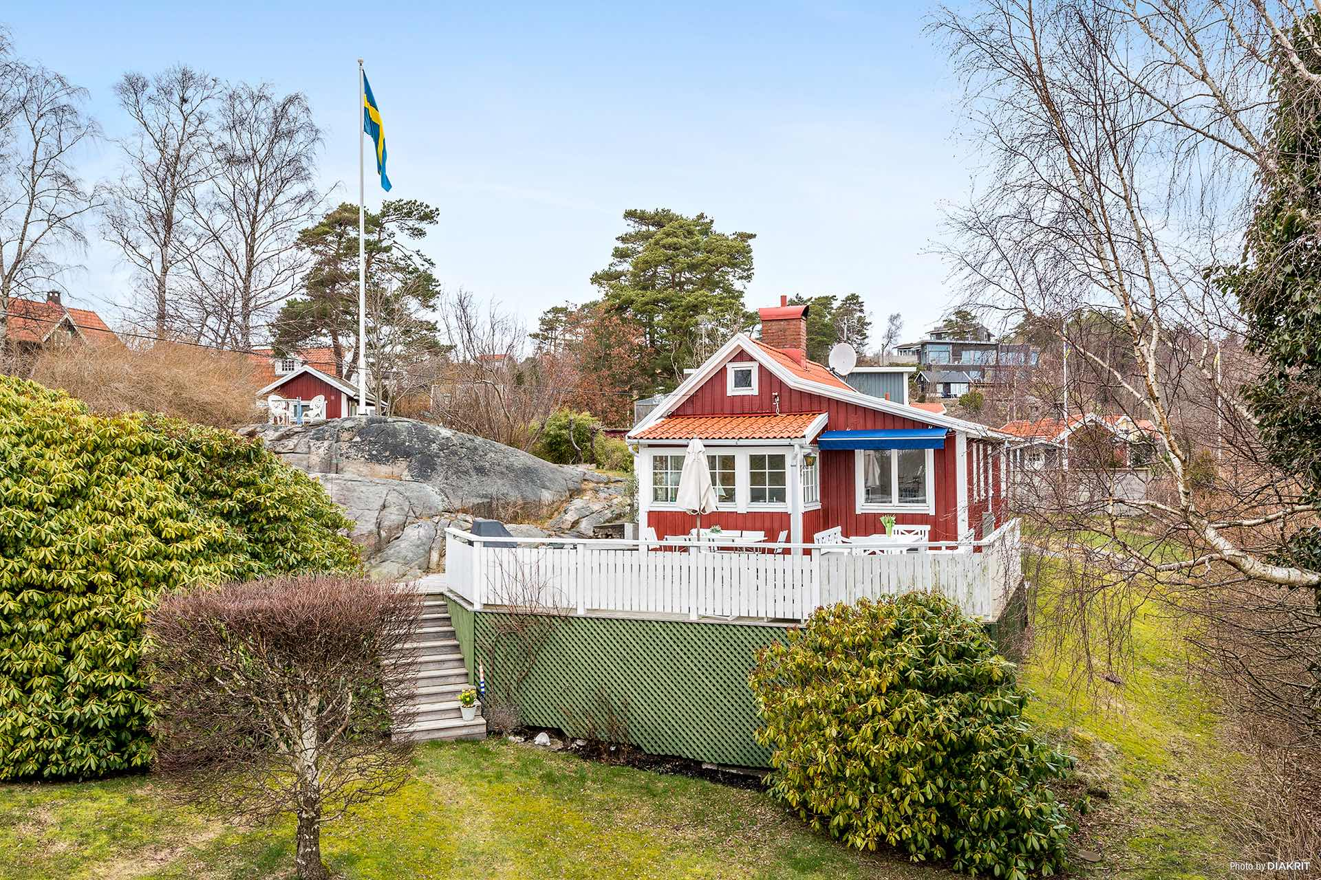 cozy 1930 cottage overlooking the sea in sweden - Small Cottage