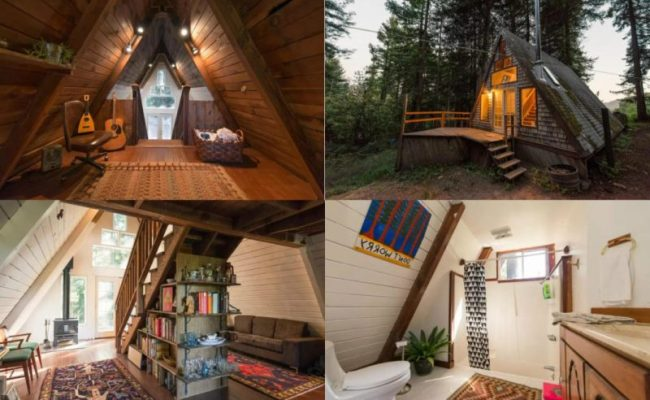 Perfect Retreat In A Frame Tiny Cabin You Ll Love It