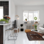Small Living Room And Kitchen Design Combo Ideas Small